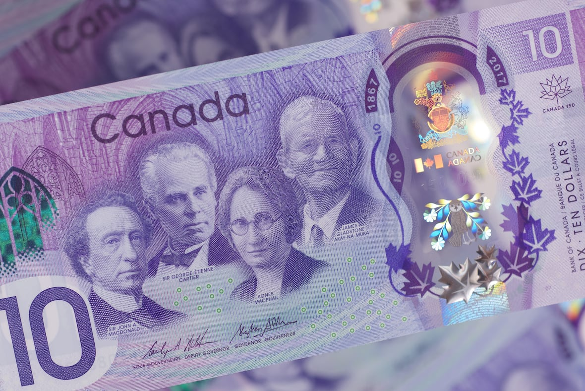 Bank of Canada unveils new $10 banknote for Canada 150 celebrations.