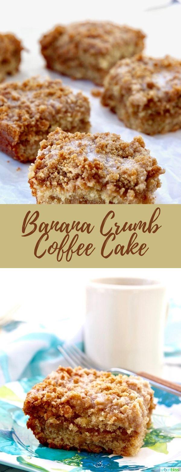 Banana Crumb Coffee Cake