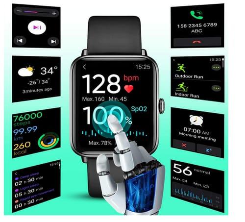 2021 Dirrelo P68 Waterproof Step Counter Smart Watch
