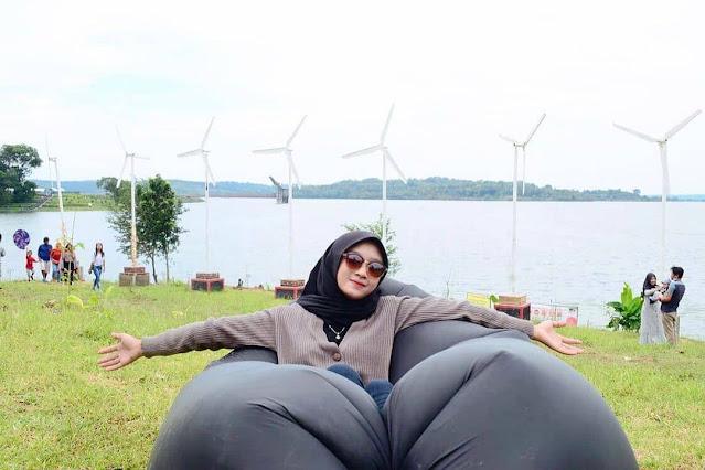 spot foto embun bening kedung ombo park