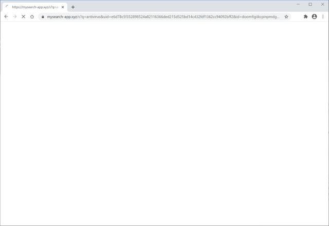 Mysearch-app.xyz (Hijacker)