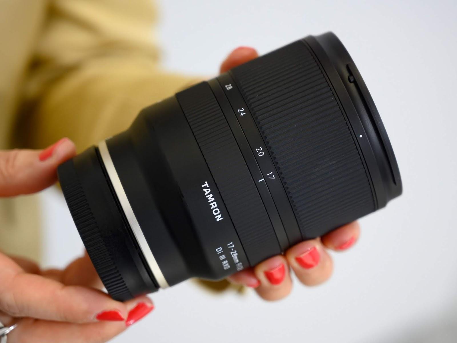 Tamron 17-28mm f/2.8 Di III RXD для Sony E