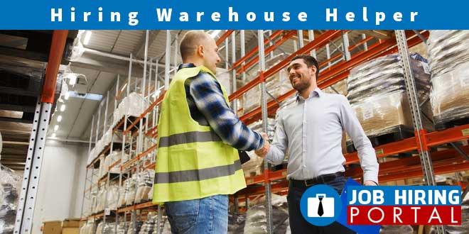 Warehouse Helper Full Time Job Hiring Portal Davao Job