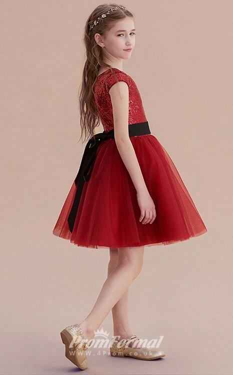 c51a6dd03835 Jewel Sleeveless Salmon Kids Prom Dresses è l ultimo abito che vi mostro ed  è il mio preferito in assoluto tra tutti.
