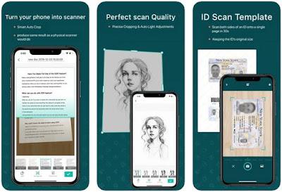 Aplikasi Scanner iPhone Gratis - CamScanner