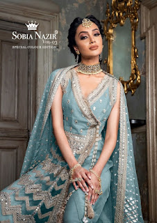 Shraddha Designer Sobia Nazir Vol 2 Pakistani Suits Collection