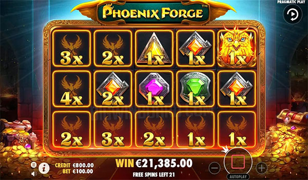 Main Gratis Slot Indonesia - Phoenix Forge Pragmatic Play