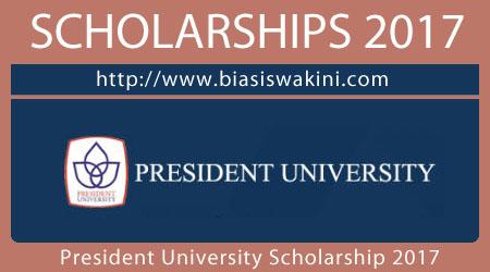 President University Scholarship 2017
