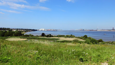 View over the Mersey from Port Sunlight River Park