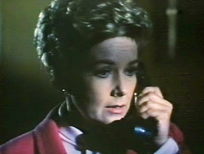 """Vera Miles on the phone in """"Matakitas is Coming,"""" Journey to the Unknown, 1968"""