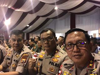 Pengarahan Presiden RI Dalam Rapat Pimpinan Kemhan TNI Polri Tahun 2020 Dihadiri Oleh Kapolda Jambi