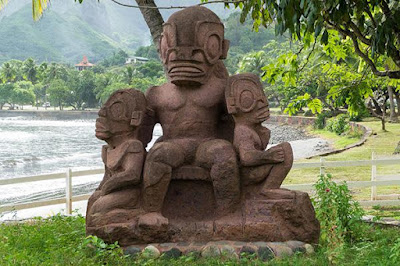 Las estatuas de Temehea Tohua ¿un culto a dioses ancestrales reptilianos?