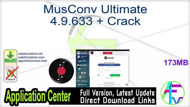 MusConv Ultimate 4.9.633 + Crack