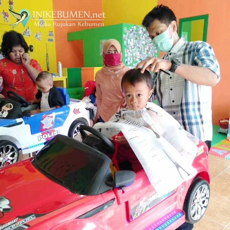BB Barbershop, Tempat Potong Rambut Asyik untuk Anak  di Kebumen