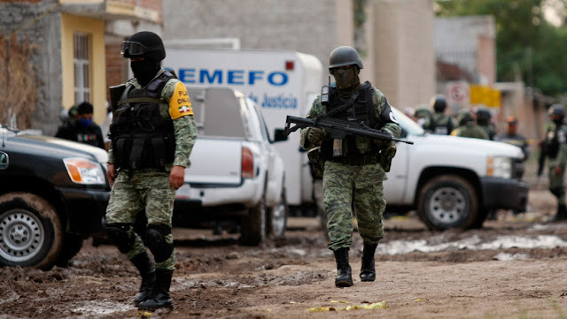 Asesinan a balazos a cinco policías en el estado mexicano de Guanajuato