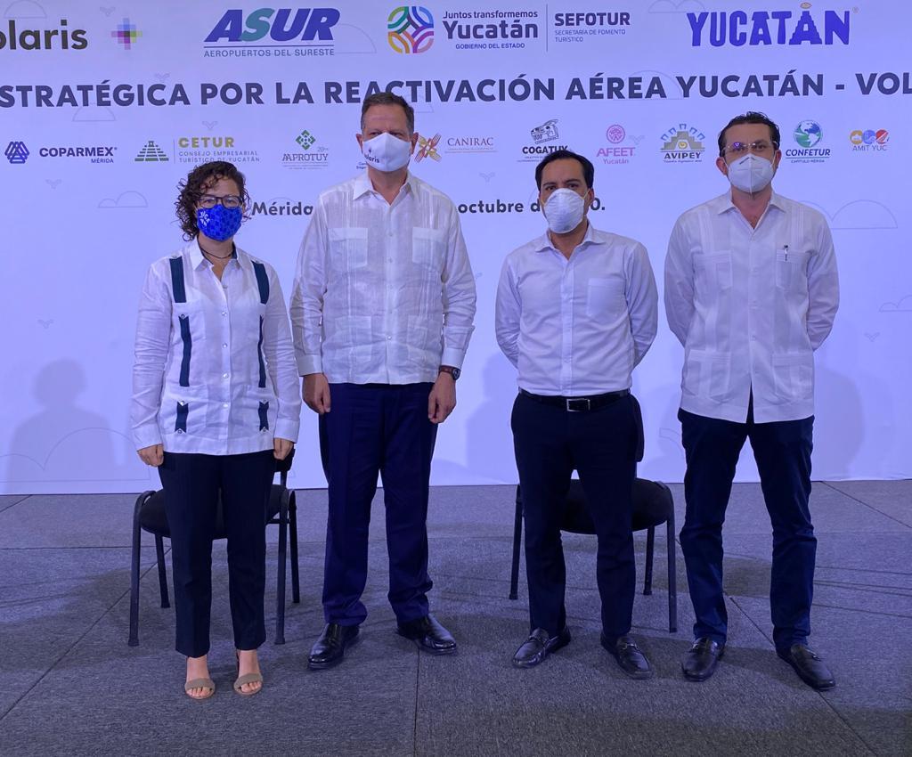 YUCATÁN VOLARIS INICIATIVA RECUPERACIÓN TURÍSTICA 01
