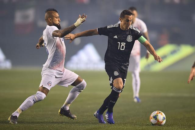 México y Chile en partido amistoso, 22 de marzo de 2019
