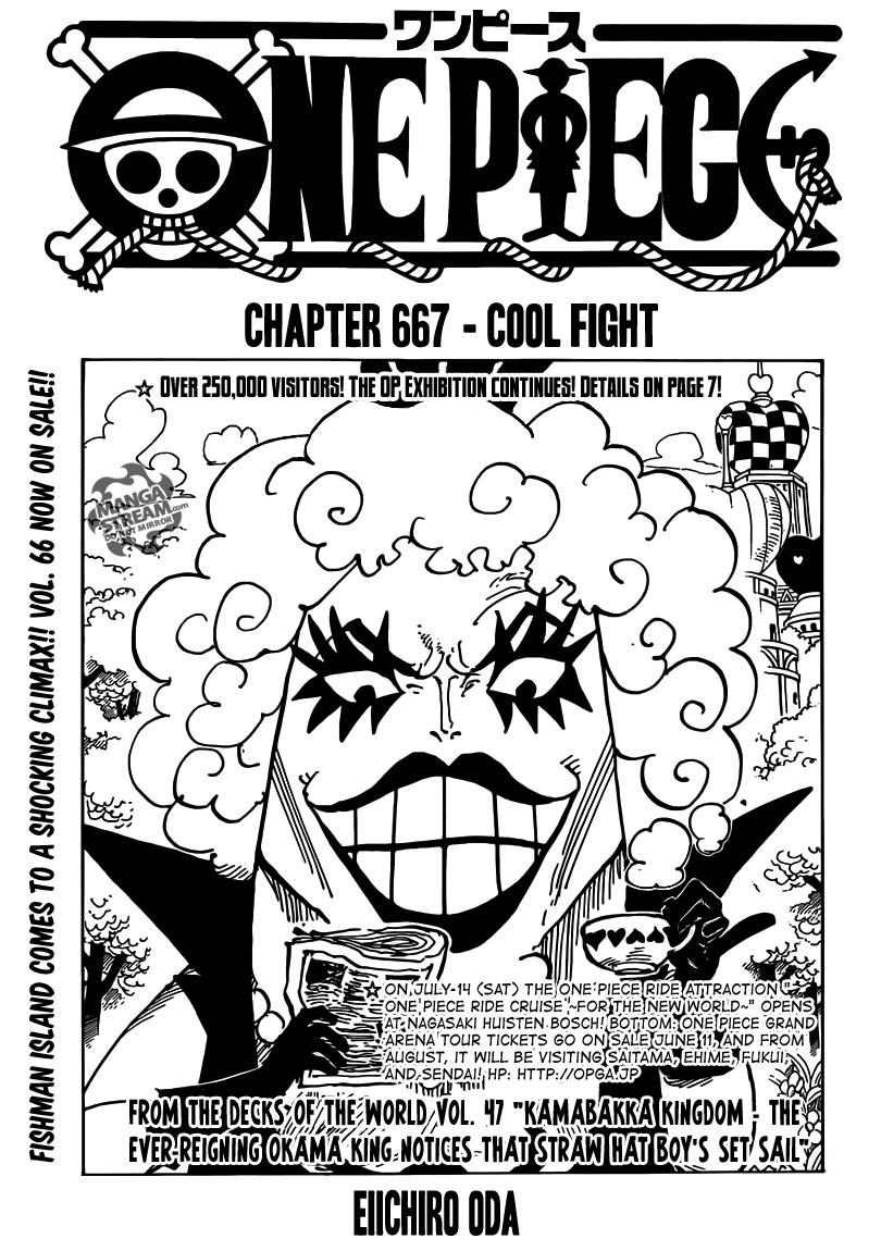 One Piece Chap 667