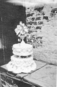 Wedding cake - undated - possibly 1920s