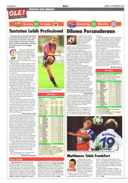 BARCELONA VS LA CORUNA TUNTUTAN LEBIH PROFESIONAL