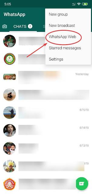 Cara Menyambungkan Whatsapp Web