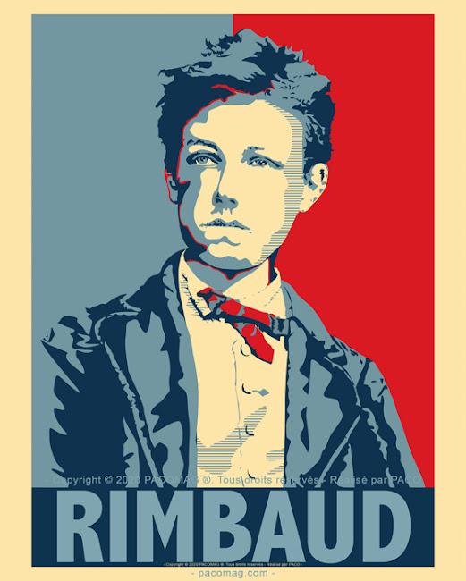 Artur Rimbaud by Paco illustrateur Graphiste