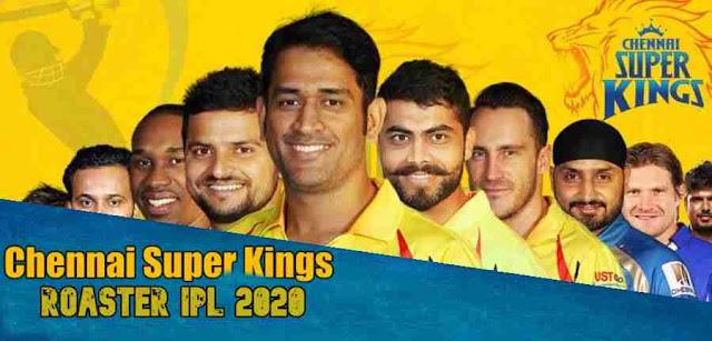 Chennai Super Kings Roster 2020