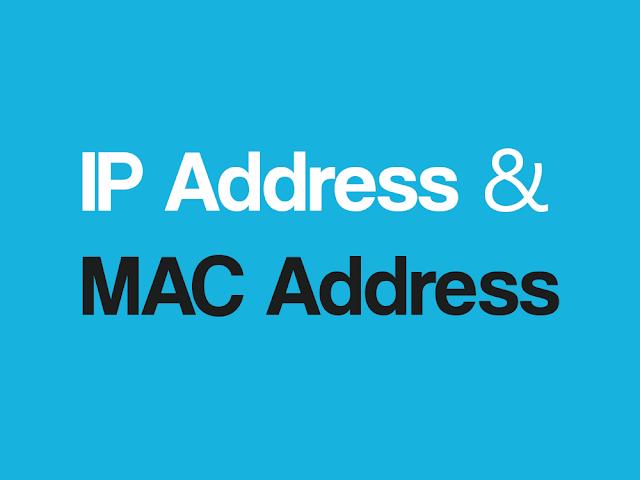perbedaan antara mac address dan ip address