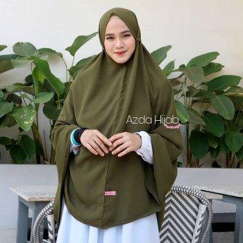Jilbab Instan Syari JUMBO Terbaru Bergo Syari Panjang