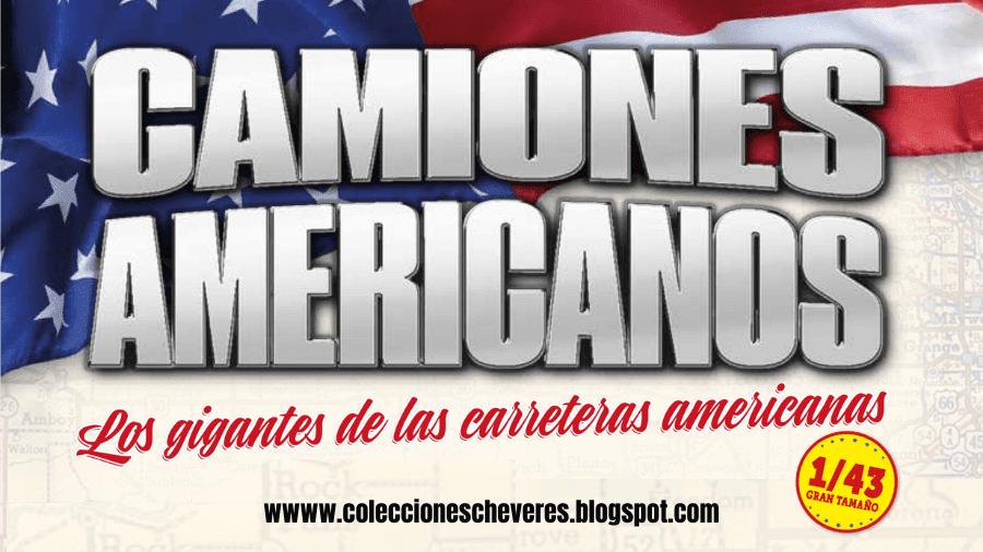 coleccion camiones americanos 1:43 altaya espana