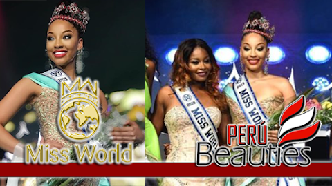 Nyah Bandelier es Miss World Bahamas 2019