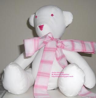 7 - Primeiro urso  de pano