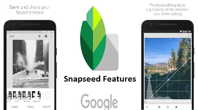snapseed apk features