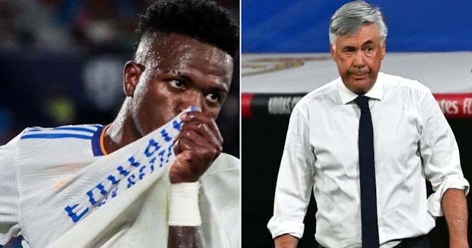 How Vinicius evolved under Ancelotti  in Real Madrid