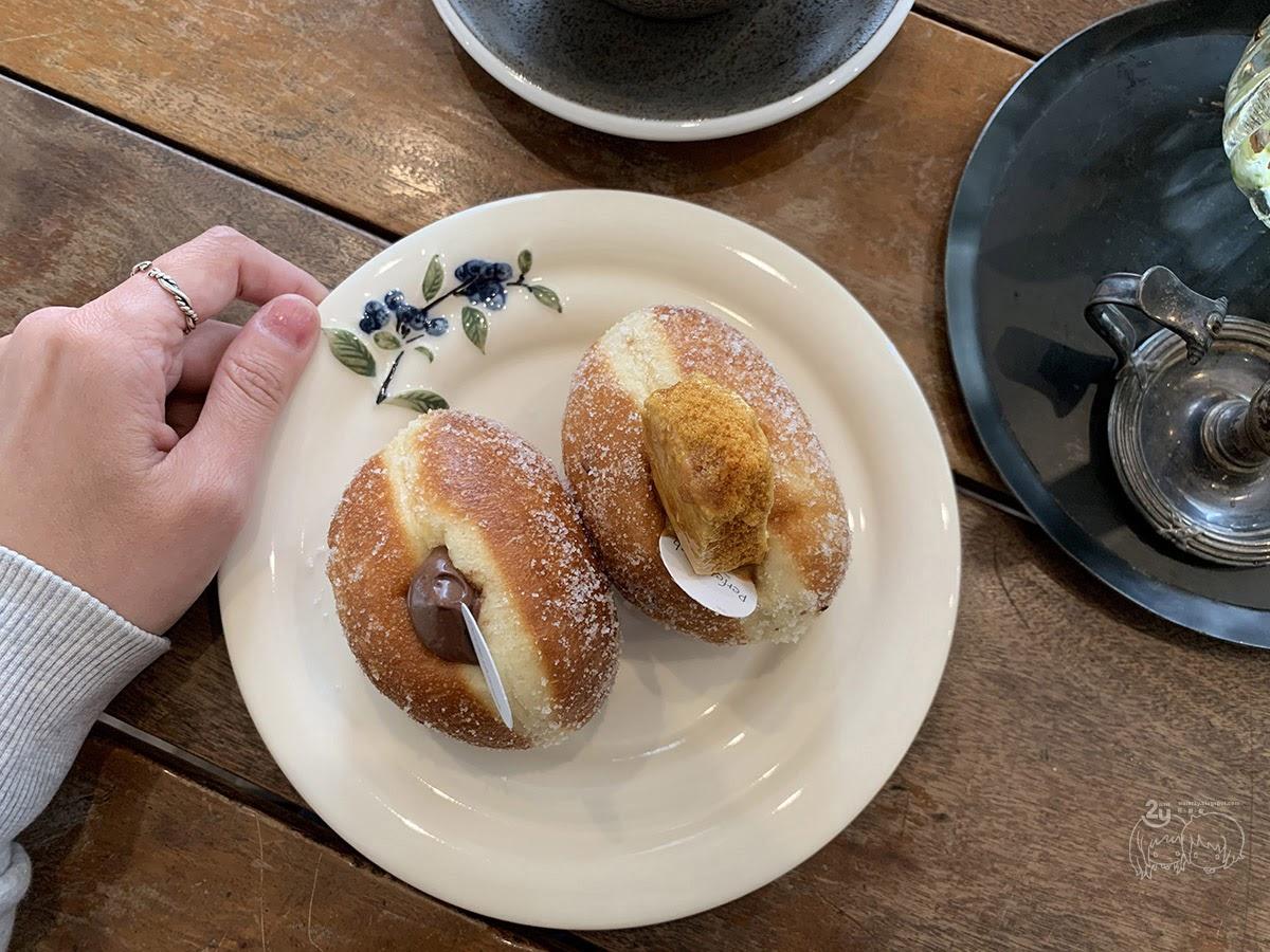 台南甜點|南區|Perfe'Dough手作甜甜圈|人氣圓滾甜食每日限量|往上走的甜點美食
