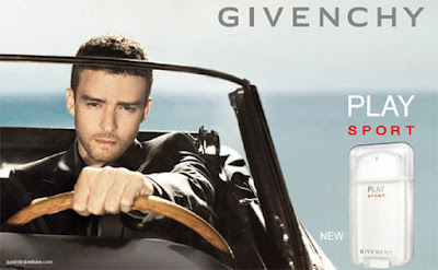 Givenchy Play Sport for Men com Justin Timberlake