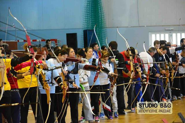 200 αθλητές και αθλήτριες στο Κλειστό Γυμναστήριο της Αγίας Τριάδας για Πανελλήνιο Αγώνα τοξοβολίας