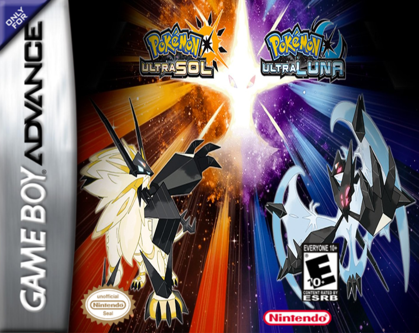 Pokémon Ultra Sol y Ultra Luna ROM GBA