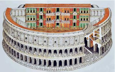 El Teatro de Marcelo, Lugares Turisticos en Roma, Que visitar en Roma, Turismo en Roma,