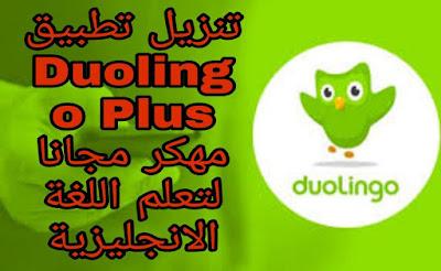 تحميل تطبيق دولينجو Duolingo مهكر للاندرويد