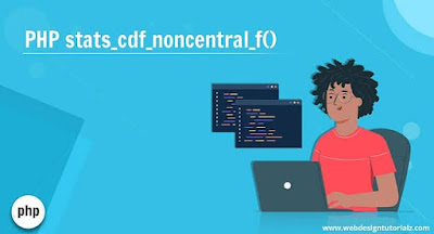 PHP | stats_cdf_noncentral_f() Function