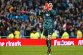 Courtois to officially takeover the No.1 shirt at Madrid next season