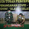 Aslog Kodam Hasanuddin Serahkan Bantuan APD untuk Penanganan Covid- 19 di Sulsel