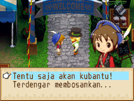 Harvest Moon Grand Bazaar Bahasa Indonesia Nintendo