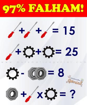 97% falham! Qual o valor das ferramentas?