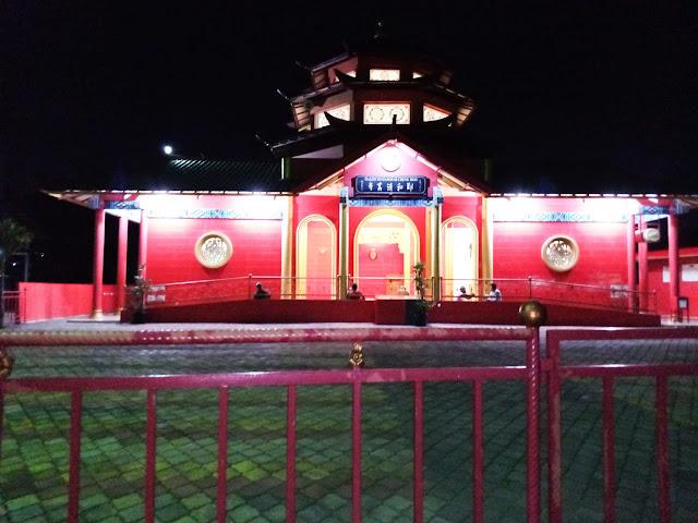 Keindahan Masjid Muhammad Cheng Hoo masih membekas dalam ingatan ku