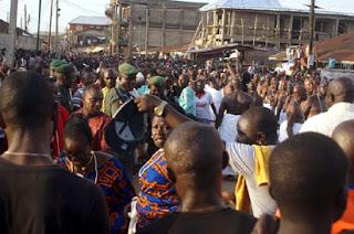Funeral Rite of Oba of Benin Omo N'oba N'Edo Uku Akpolokpolo Oba Erediawa 4444