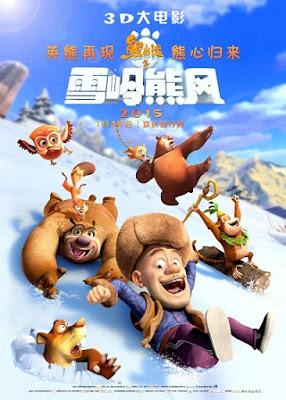 Boonie Bears Inverno Magico Capa