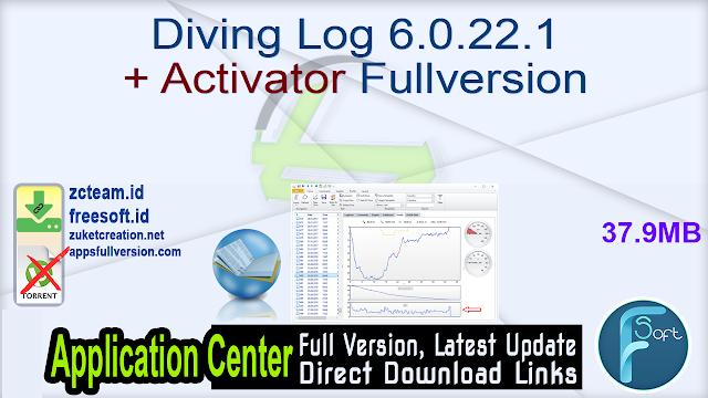 Diving Log 6.0.22.1 + Activator Fullversion