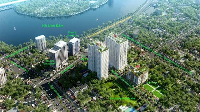 Phối cảnh dự án Eco Lake View Hoàng Mai